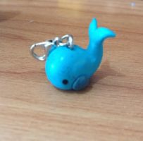 Whale Charm by MiniMushies