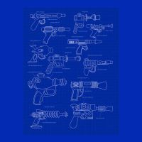 Blaster Plan Featuring Space Guns by Design-By-Humans