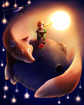 The Little Prince by LessaNamidairo