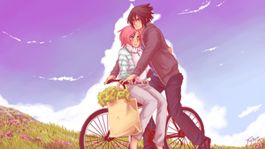 Bicycle Ride by Fey-Rayen