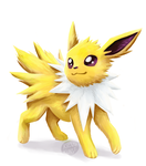 Pokeddex Challenge Day 19: Jolteon by mini-britt