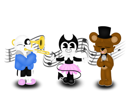 The singer, the musician and the dancer by TheTigressFlavy