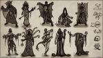 Cthulhu Cultist Thumbnails by Andantonius