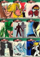 Marvel Sketch cards 7 by Julianlytle