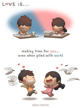 Love is... making time for you! by hjstory