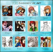 Summary of Art 2010 by LinaHoshi