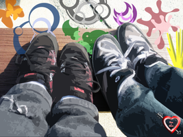 Shoes Wallpaper by Ron4Life