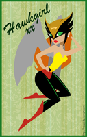 Hawkgirl Pin-up by laurencskinner
