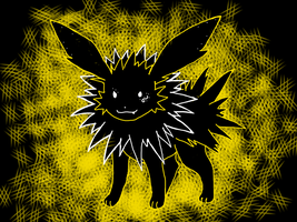 Jolteon for contest by holloweens-out