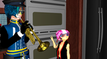 MMD HTF_When Dark Shadow Lord Isn't Home by FantineAquane