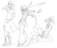 Magic Knight Rayearth AU Jam by eXed-OUT