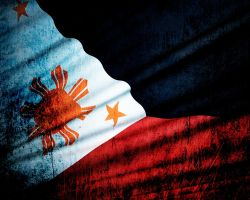 Philippine Grunge Flag by EnCleaver