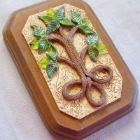 Celtic Tree of Life plaque by IntotheDawnDesigns