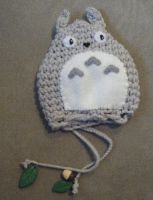 Totoro draw-string bag by LeluDallas