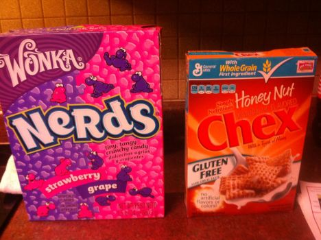 Nerds Greater Than Chex by Maklos