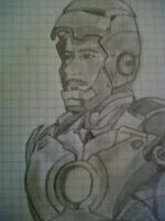 Tony Stark/ Iron Man by ferdinandapaix