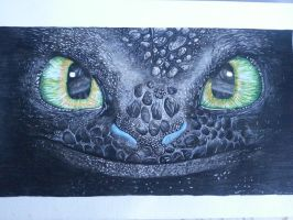 Toothless by HeroJamesStar