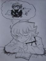 Johan dreaming about Judai again~ by MistressChi08
