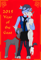 Year of the Goat - loved by Brass Knuckles by iSaunter
