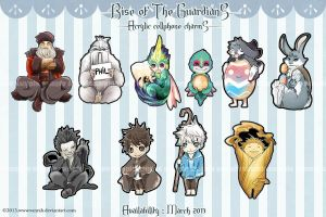 ROTG - Cellphone charms by VanRah
