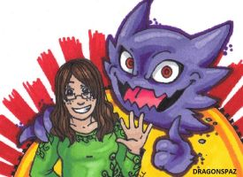Haunter and Me by Dragonspaz