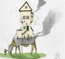 Cow House WIP by ZacharyHogan