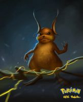 026 Raichu by DanteCyberMan