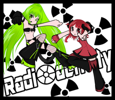 . Radioactive Girls to the Rescue . by Majikaru-Rin