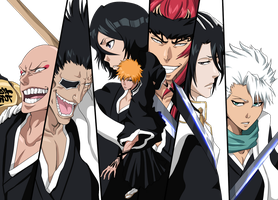 Bleach Characters by DreamingEssence