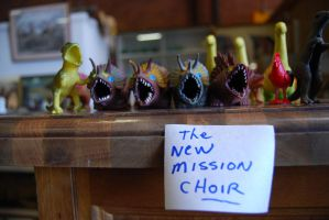The new mission choir. by Talon010