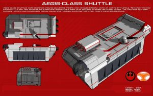 Aegis Class Combat Shuttle ortho [1] [new] by unusualsuspex