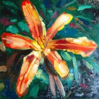 Still Life Flower Painting by golfiscool