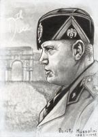 ATC - Benito Mussolini by djinn-world