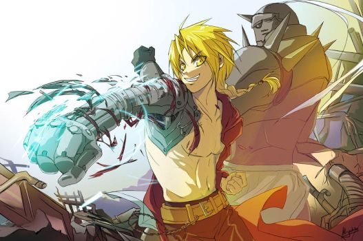FMA - To an unseen world by Miyukiko
