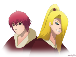 Sasori and Deidara by mayday213