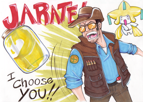 Jarate I Choose you by neoanimegirl