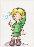 Young Link by tooncellos219