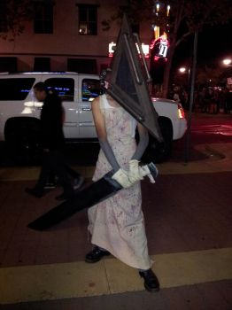 Pyramid Head Costume by SUBJECT-241