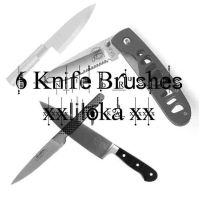Knife Brushes by superlibbie