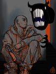 a homeless runaway talks to demons by deadyaeger