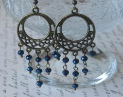 Midnight Dreams Earrings by LKJSlain
