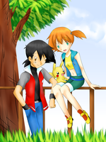 Pokeshipping -redo- by PKD123