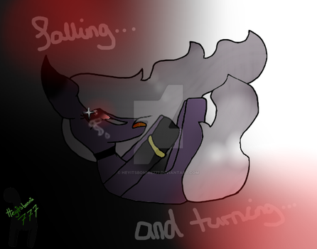 ( mlp ) Falling.. and Turning by HeyItsBonnie777