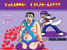 Game Over Chris Chan Game Over by ScepterDPinoy
