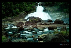 Waterfalls in Srilanka by vinayan