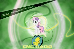 DJ Sweetie Belle Wallpaper by StreamlinedPegasus