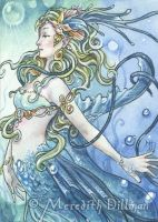 ACEO - Deep Sea Mermaid by MeredithDillman