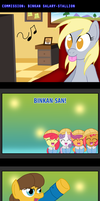 COM: Binkan Salary-Stallion by AniRichie-Art