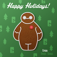 Gingerbread Hero 6 by MaxGraphix