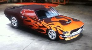 Singe's '69 Ford Mustang Concept 2 View 1 by CarlostheBat36